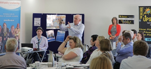 Paul Presenting at Bendigo November 2015 Teachers Agriculture and Career Opportunities