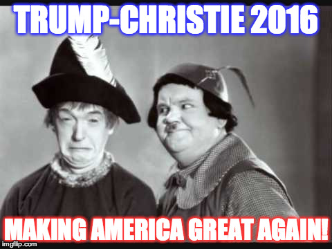 Trump Christie from imgflip